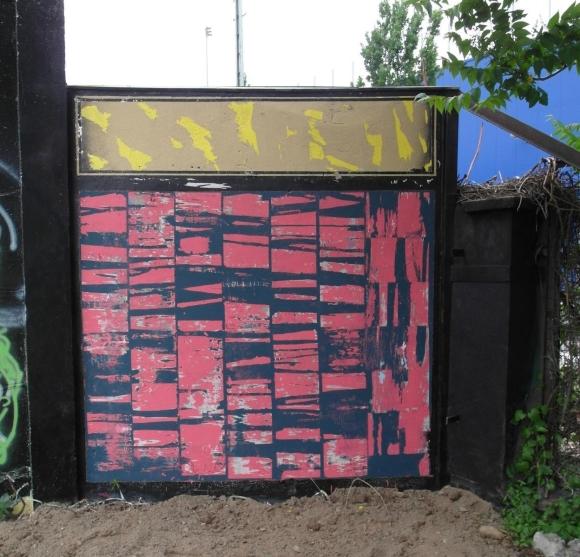 Ludwig Schult - Wandmalerei Berghain Pulboy 2,5mx2,5m - Berlin16