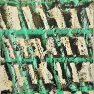 Regatta III, ca. 70 x 60 cm, mixed media on plywood, 2018, 2018