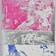 A.H.w.F. I, 40x30, mixed media on canvas