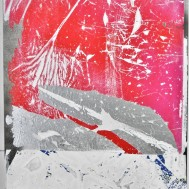 A.H.w.F. II, 40x30, mixed media on canvas