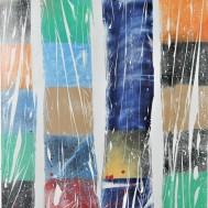 Knit I, 140x100, mixed media on canvas