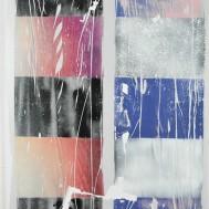 Knit III, 140x100, mixed media on canvas